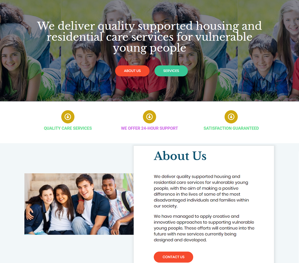 avec support website designed by evantu it and web solutions