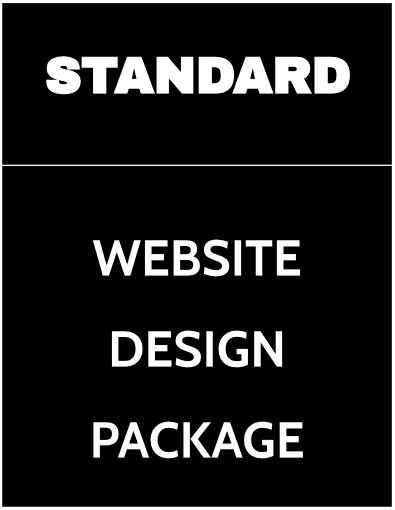 standard website design package