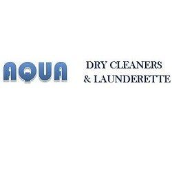 Aqua Drycleaning and laundrette website designed by evantu