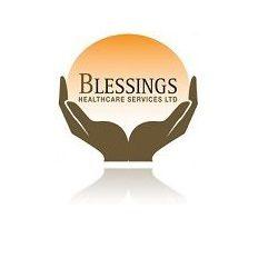 Blessings Healthcare website designed by evantu