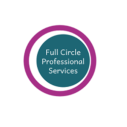 Full circle professional services website designed by evantu